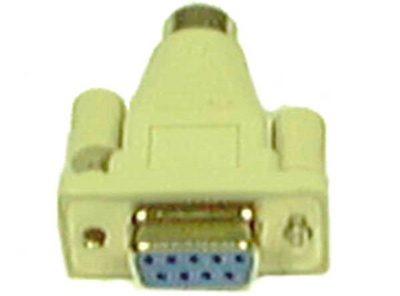 DB 25pin Male to DB 9pin Male Port Saver Serial RS-232 Gender Changer Adapter